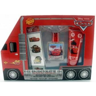 Conjunto Eau de Toilette + Gel de Banho + Tatoos Cars
