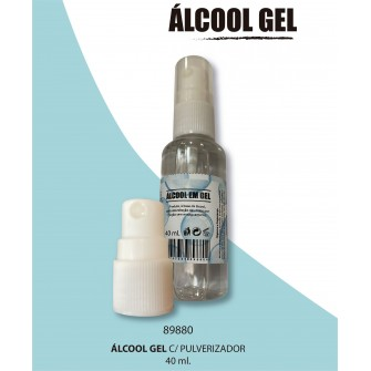 álcool Gel com pulverizador