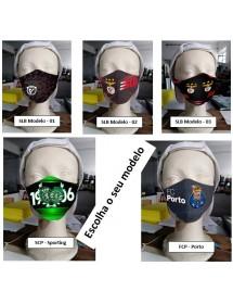 Mascarás Personalizadas Clubes