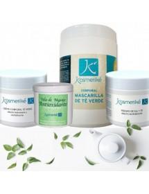 Tratamento Cosmético Corporal Kosmetiké Green Tea Body Care: Efeito revitalizante e antioxidante