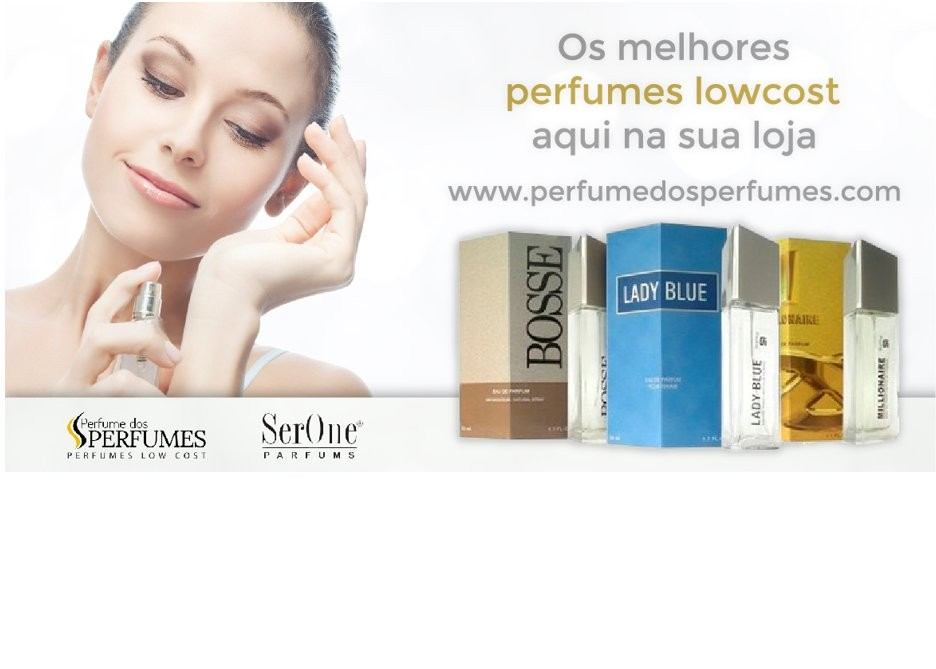Os melhores perfumes Low Cost